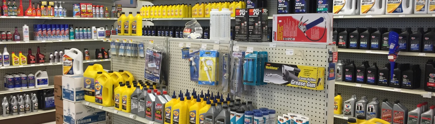Inside Bethany Auto Parts & Marine Supplies